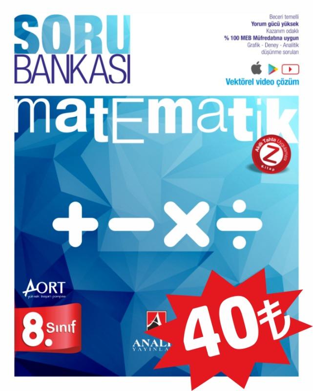 Analiz Yayınları LGS 8. Sınıf Matematik Soru Bankası