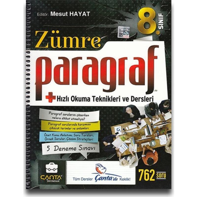 8. Sınıf Zümre Paragraf Çanta Yayınları