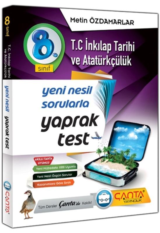 8. Sınıf T.C. İnkılap Tarihi Ve Atatürkçülük Yaprak Test Çanta Yayınları