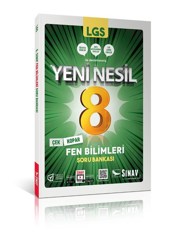 Sınav Yayınları 8. Sınıf LGS Fen Bilimleri Soru Bankası