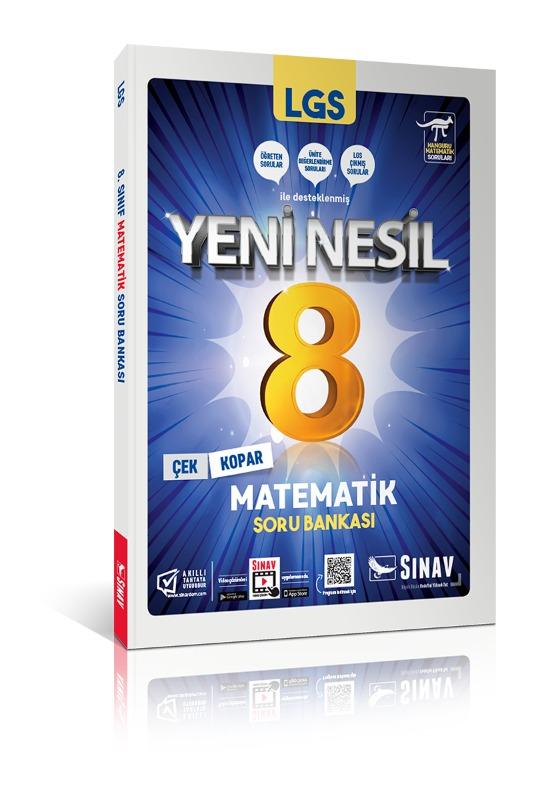 Sınav Yayınları 8. Sınıf LGS Matematik Soru Bankası