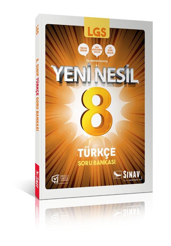 Sınav Yayınları 8. Sınıf LGS Türkçe Soru Bankası