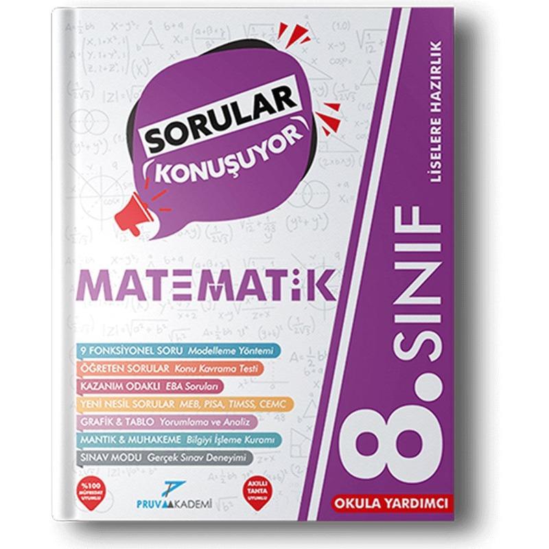 Pruva Akademi Yayınları LGS 8. Sınıf Matematik Soru Bankası
