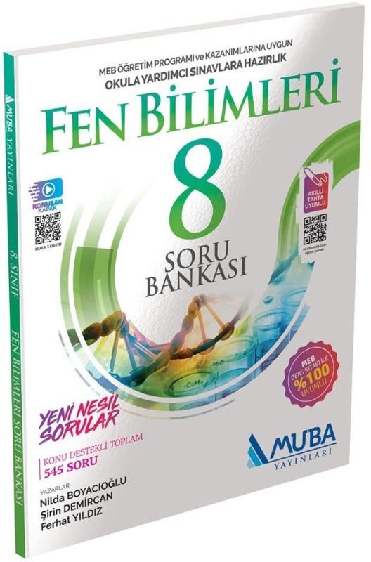 8. Sınıf Fen Bilimleri Soru Bankası Muba Yayınları
