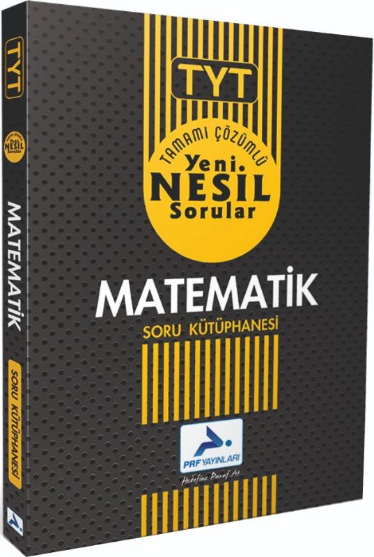 PRF Yayınları TYT Matematik Soru Kütüphanesi