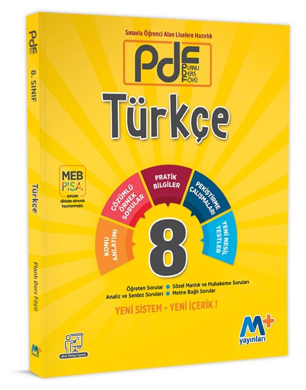 8.Sınıf PDF Türkçe Martı Okul Yayınları