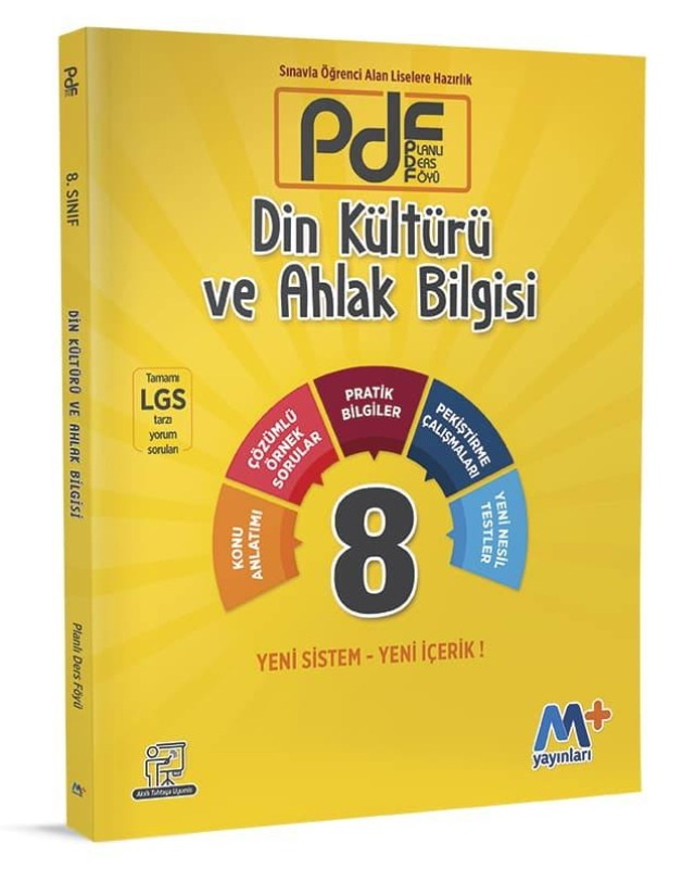 8.Sınıf PDF Din Kültürü ve Ahlak Bilgisi  Martı Okul Yayınları