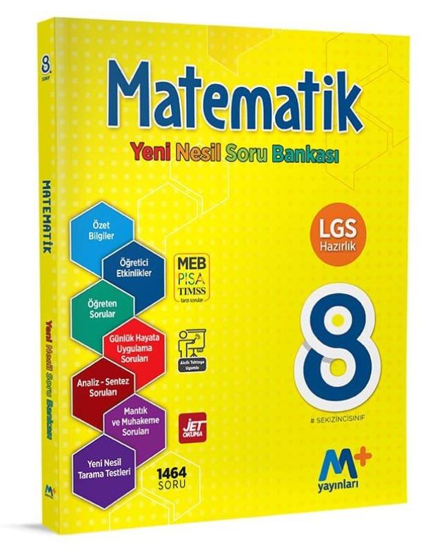 8. Sınıf Matematik Yeni Nesil Soru Bankası Martı Okul Yayınları