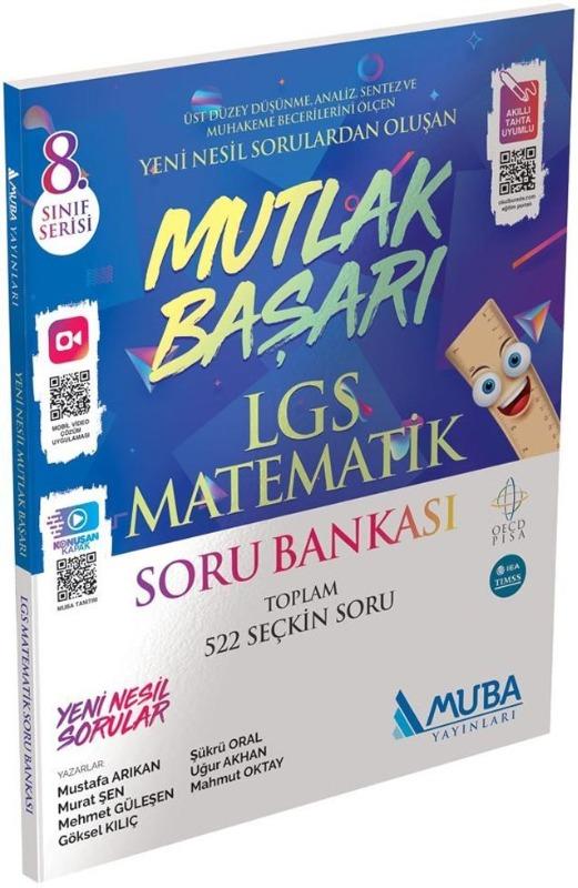 Mutlak Başarı LGS Matematik Soru Bankası Muba Yayınları