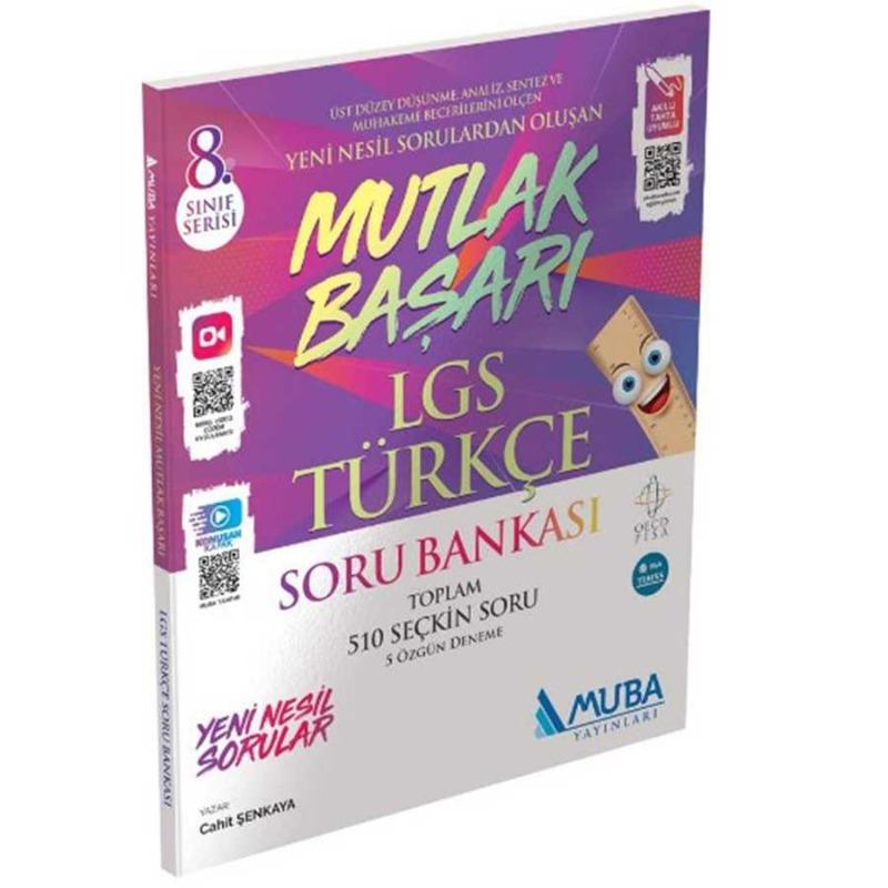 Mutlak Başarı LGS Türkçe Soru Bankası  Muba Yayınları