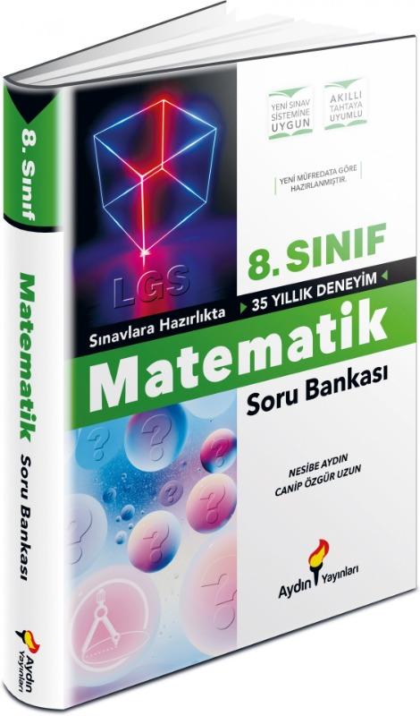 LGS 8. Sınıf Matematik Soru Bankası Aydın Yayınları