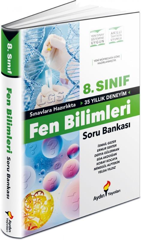 LGS 8. Sınıf Fen Bilimleri Soru Bankası Aydın Yayınları