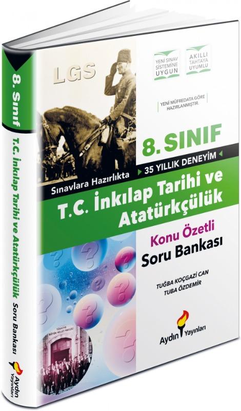 LGS 8. Sınıf İnkılap Tarihi ve Atatürkçülük Konu Özetli Soru Bankası Aydın Yayınları
