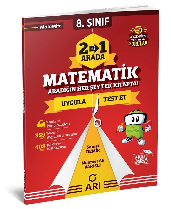 Arı Yayıncılık 8. Sınıf Matematik 2 Si 1 Arada Matemito