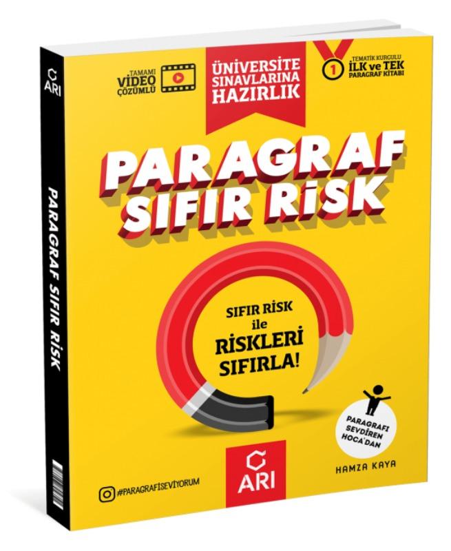 Paragraf Sıfır Risk Soru Bankası Arı Yayıncılık