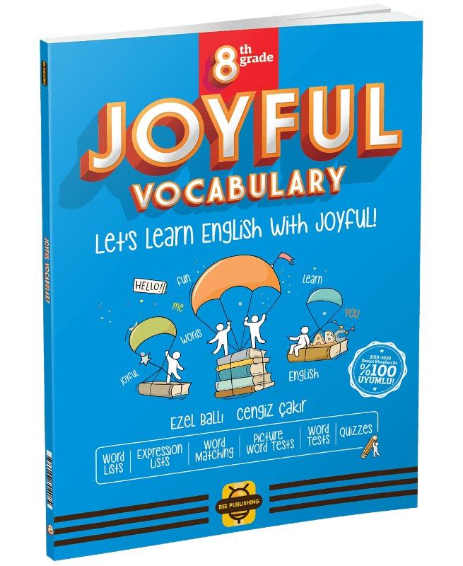 Arı Yayınları 8. Sınıf Joyful Vocabulary Book Bee Publishing