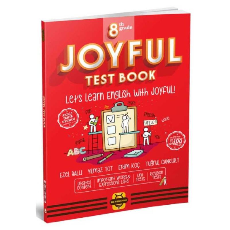 Arı Yayınları  8. Sınıf Joyful Test Book Bee Publishing