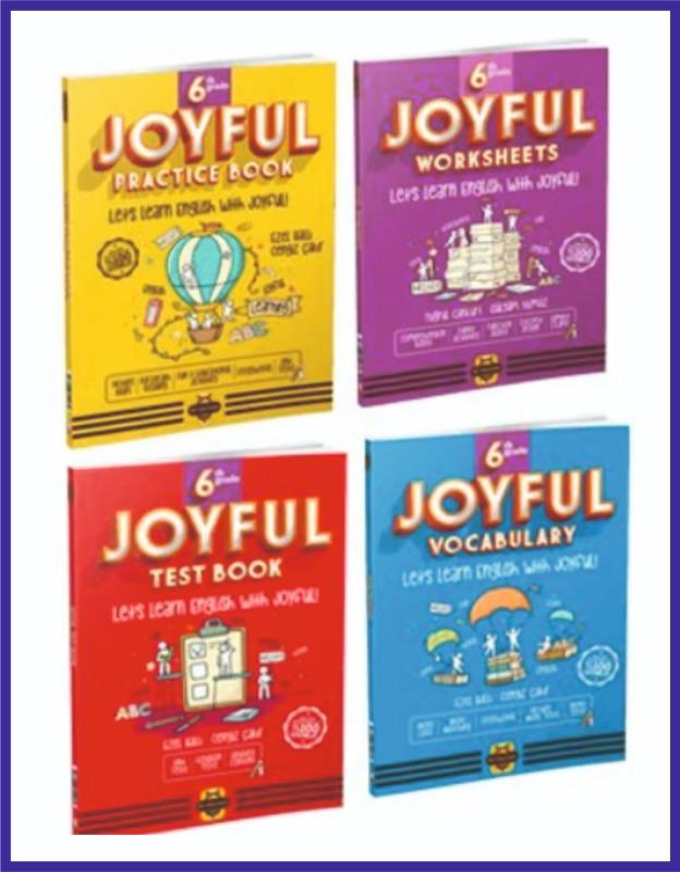 Arı Yayıncılık 6. Sınıf İngilizce JOYFUL Seti 4 KİTAP Bee Publishing