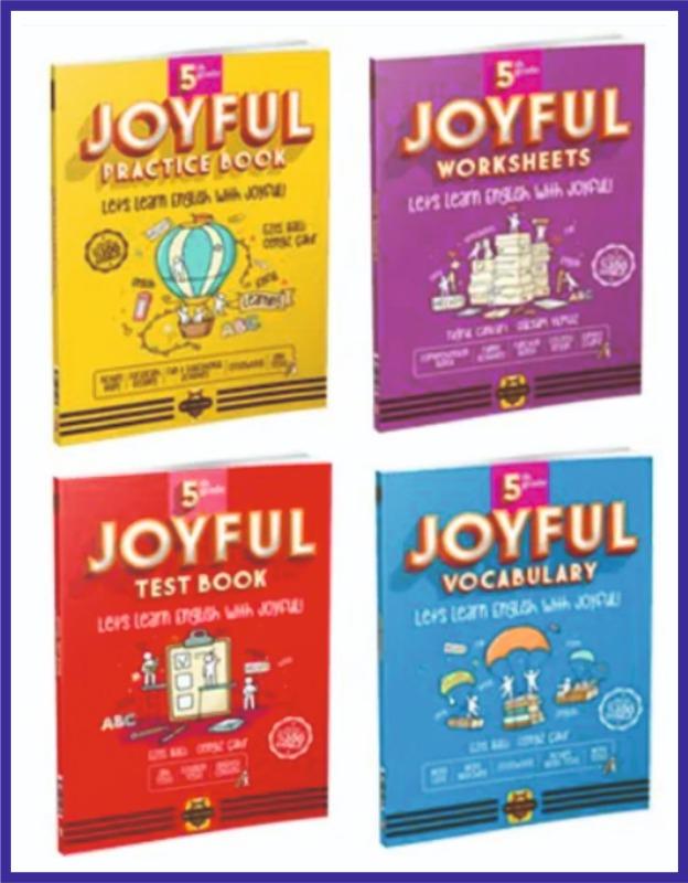 Arı Yayıncılık 5.Sınıf İngilizce JOYFUL Seti 4 KİTAP Bee Publishing