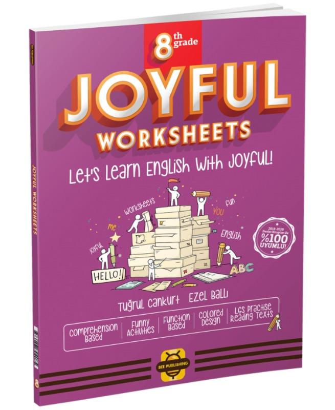 ARI Yayınları 8. Sınıf Joyful Worksheets Bee Publishing