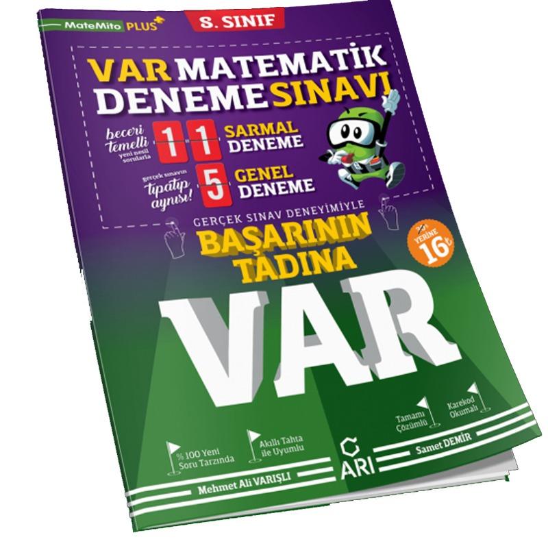 Arı Yayınları LGS 8. Sınıf Matematik Başarının Tadına Var Deneme Sınavı