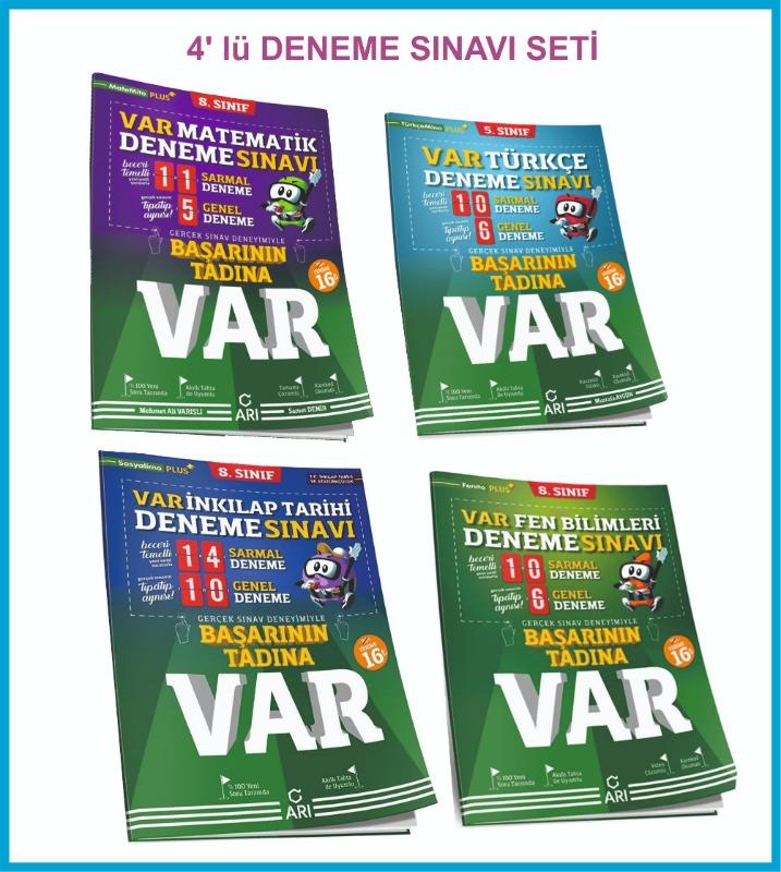 Arı Yayınları 8. Sınıf Başarının Tadına Var Deneme Sınavı Seti