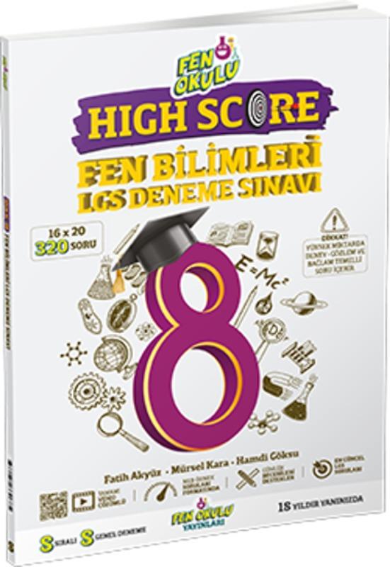 Fen Okulu High Score Fen Bilimleri Deneme Sınavı