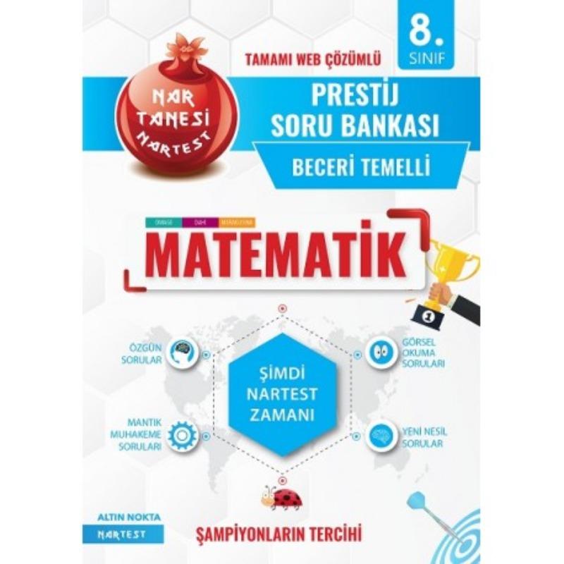 Nartest 8. Sınıf Prestij Matematik Soru Bankası