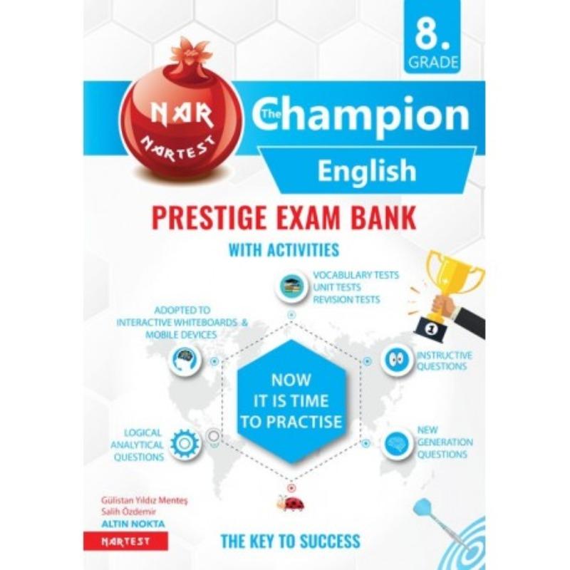 Nartest 8. Grade Prestıge Exam Bank The Champıon