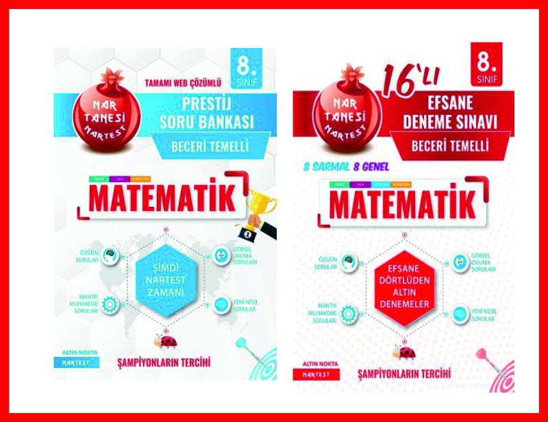 Nartest Yayınları Matematik Prestij Soru Bankası ve 16 Deneme