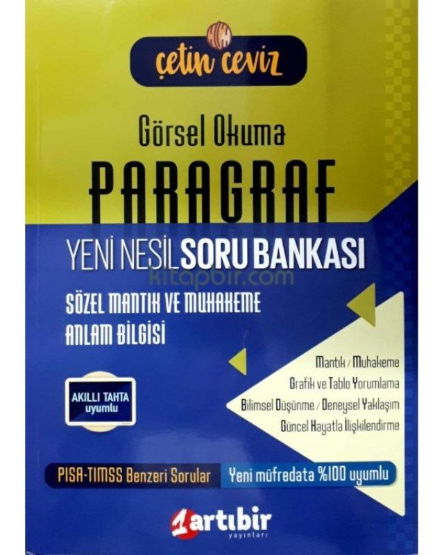 Artıbir Yayınları 8. Sınıf Paragraf Çetin Ceviz Soru Bankası
