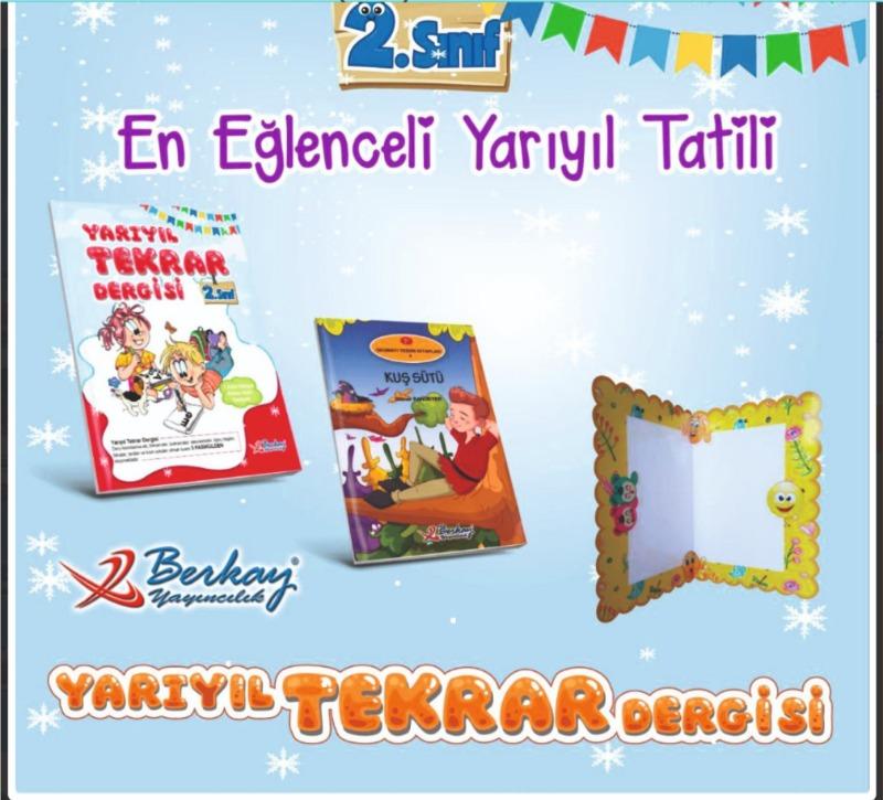 Berkay Yayınları 2.Sınıf Yarıyıl Tatil Seti 2019-2020