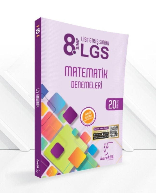 Karekök Yayınları 8. Sınıf LGS Matematik Denemeleri