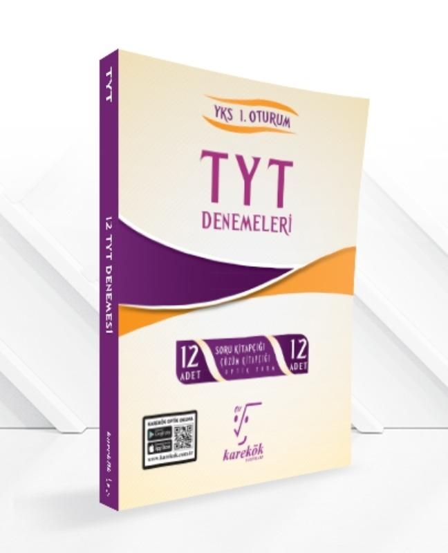Karekök Yayınları TYT 12'Lİ ÇÖZÜMLÜ DENEME SETİ