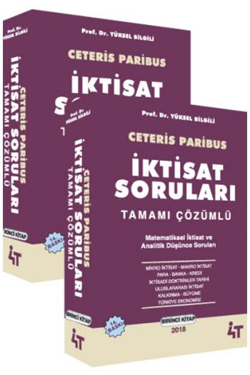 4T Yayinlari Ceteris Paribus Iktisat Sorulari (14.Baski)