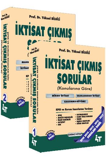 4T Yayinlari KPSS ve Kurum Sinavlari Için Konularina Göre Iktisat Çikmis Sorular 11.Baski
