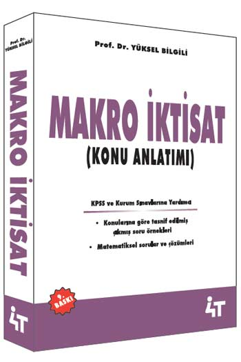4T Yayinlari Makro Iktisat Konu Anlatimi 9. Baski