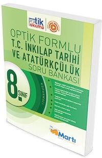 Marti Okul Yayinlari 8. Sinif T.C. Inkilap Tarihi ve Atatürkçülük Soru Bankasi Optik Formlu