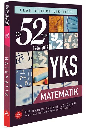A Yayinlari YKS 2. Oturum Matematik Son 52 Yilin Çikmis Sorulari