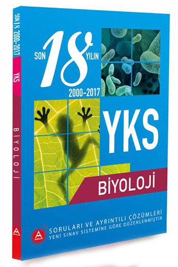 A Yayinlari YKS Biyoloji Son 18 Yil Çikmis Sorulari ve Ayrintili Çözümleri