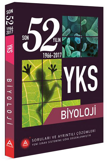A Yayinlari YKS Biyoloji Son 52 Yilin Çikmis Sorulari