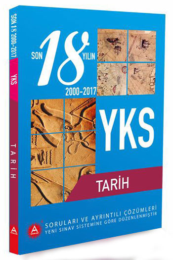A Yayinlari YKS Tarih Son 18 Yil Çikmis Sorulari ve Ayrintili Çözümleri
