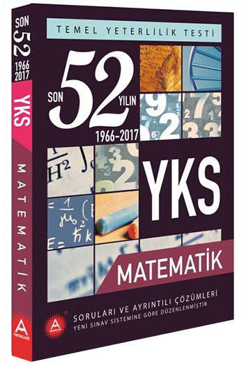 A Yayinlari YKS Temel Yeterlilik Testi Matematik Son 52 Yilin Çikmis Sorulari