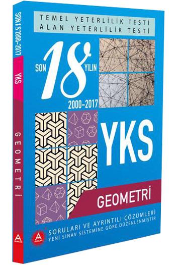 A Yayinlari YKS Temel Yeterlilik Testi ve Alan Yeterlilik Testi Geometri Son 18 Yil Çikmis Sorulari
