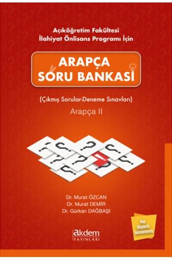 Akdem Yayinlari Arapça Soru Bankasi - Çikmis Sorular - Deneme Sinavlari Arapça 2