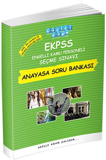 Akilli Adam Yayinlari EKPSS Lise Ön Lisans ve Lisans Adaylari Için Anayasa Soru Bankasi