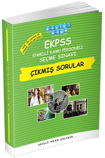 Akilli Adam Yayinlari EKPSS Lise Ön Lisans ve Lisans Adaylari Için Çikmis Sorular