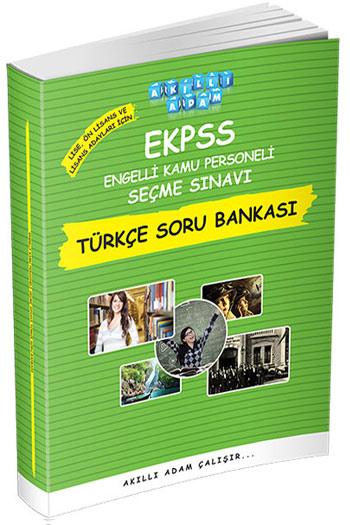 Akilli Adam Yayinlari EKPSS Lise Ön Lisans ve Lisans Adaylari Için Türkçe Soru Bankasi