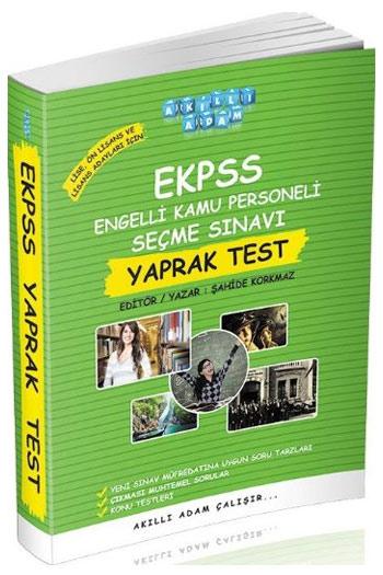 Akilli Adam Yayinlari EKPSS Lise ve Ön Lisans Adaylari Için Yaprak Test