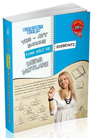 Akilli Adam Yayinlari YKS-AYT Sahane Türk Dili ve Edebiyati Ders Notlari